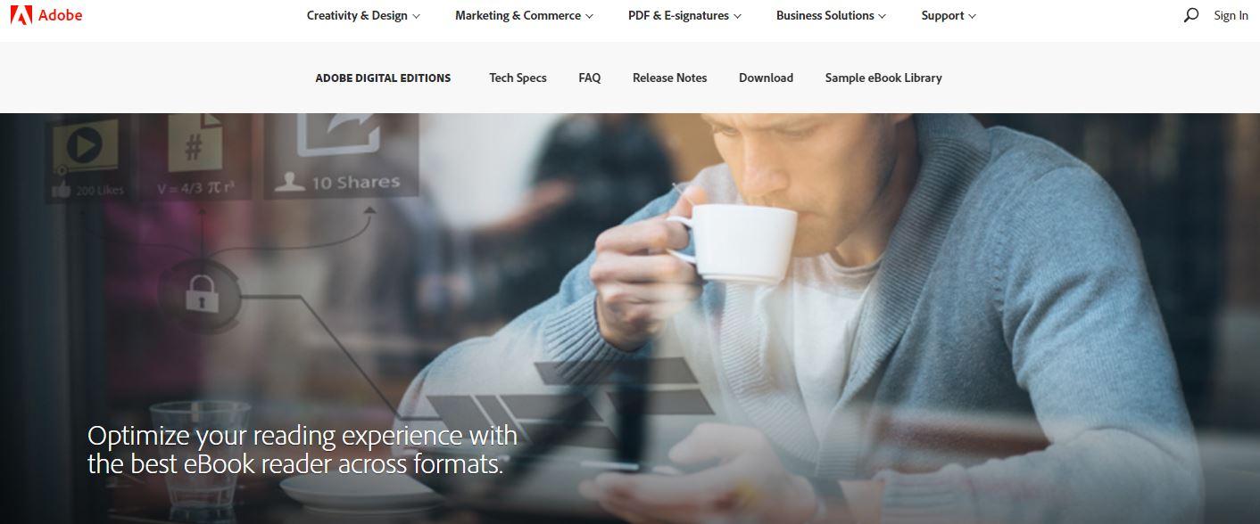 ePub Reader - Adobe Digital Editions