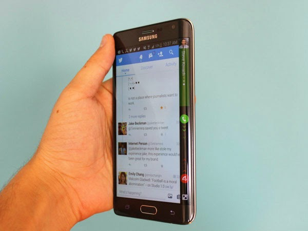 Thiết kế Samsung Galaxy Note Edge