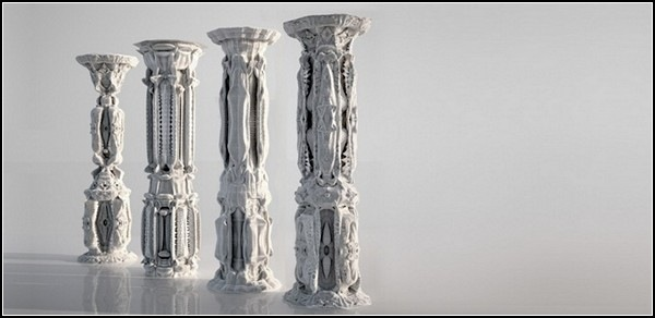 Картонные скульптуры архитектора Михаэля Ансмейера (Michael Hansmeyer)