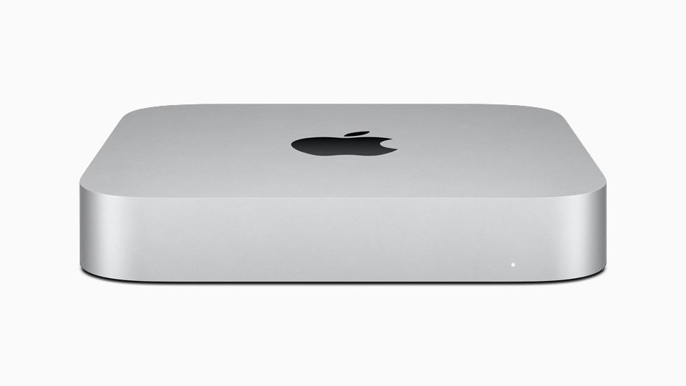 The new M1-powered Mac mini.