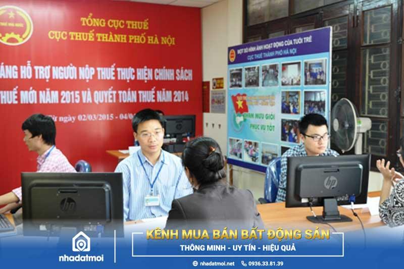 Email đường dây nóng cục thuế thành phố Hà Nội