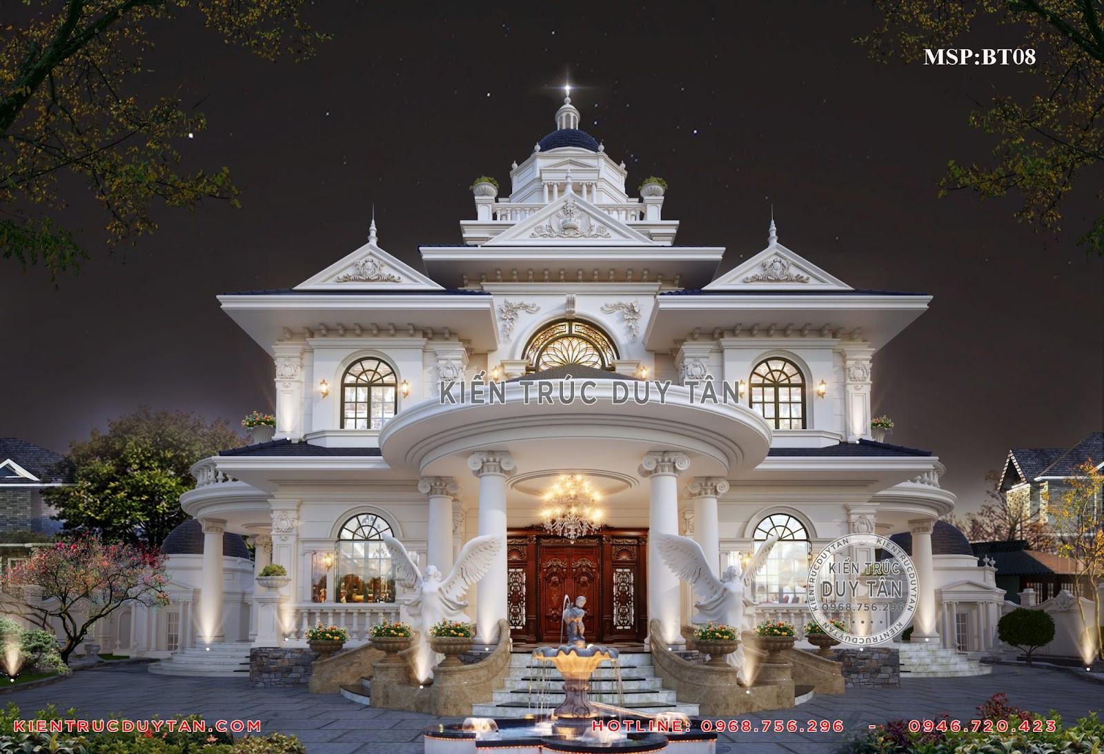 Đơn giá xây thô biệt thự tại kiến trúc Duy Tân