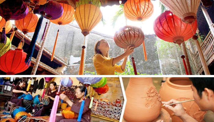 Trải nghiệm những làng nghề truyền thống tại Hội An