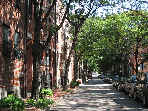 Boston walkable neighborhood
