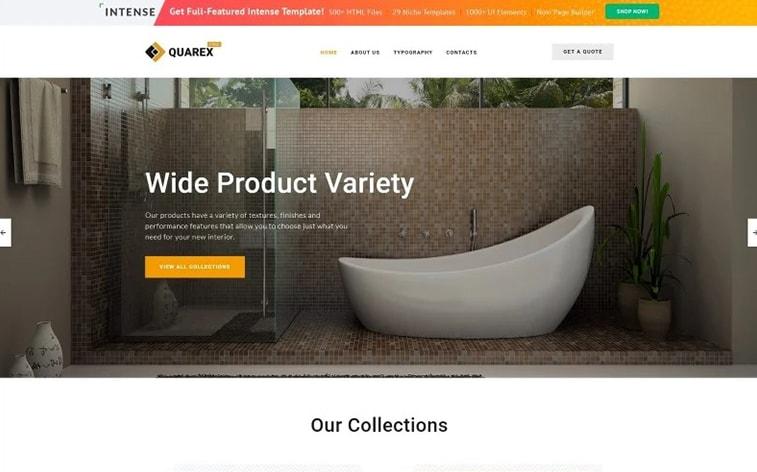 лучший бесплатный шаблон темы ботстрапа веб-сайт дизайн интерьера дома