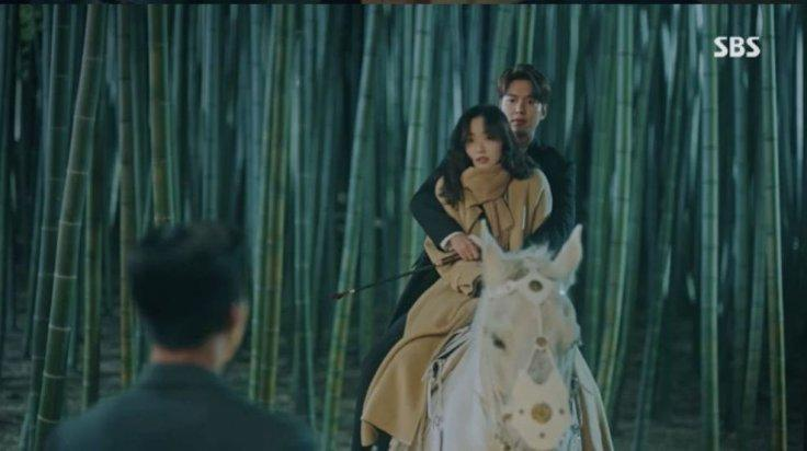 Lee Gon-Jung Tae Eul romance in The King: Eternal Monarch