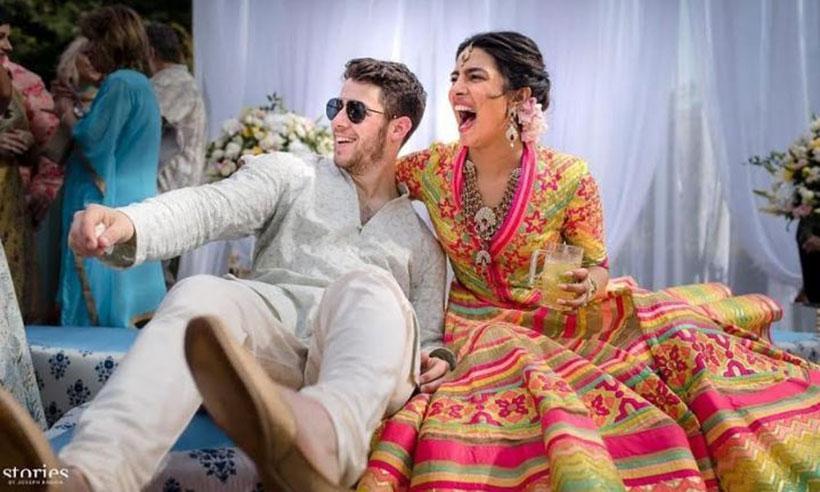 Image result for priyanka and nick wedding