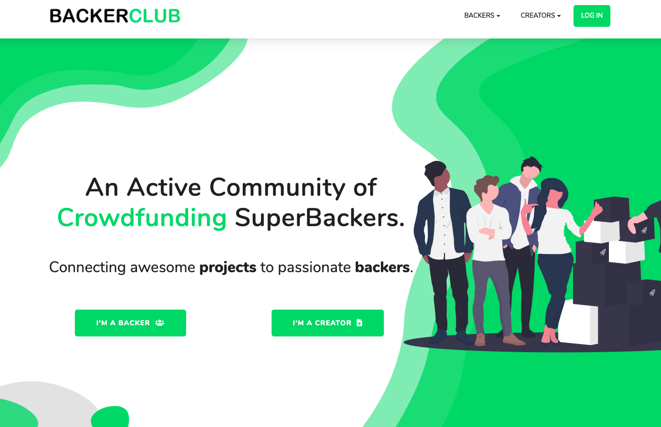 what is backerclub? this is a review