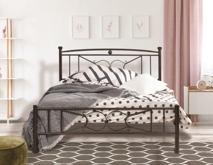 Μεταλλικά Κρεβάτια : Κρεβάτι Ιφιγένεια για στρώμα πλάτους 90cm
