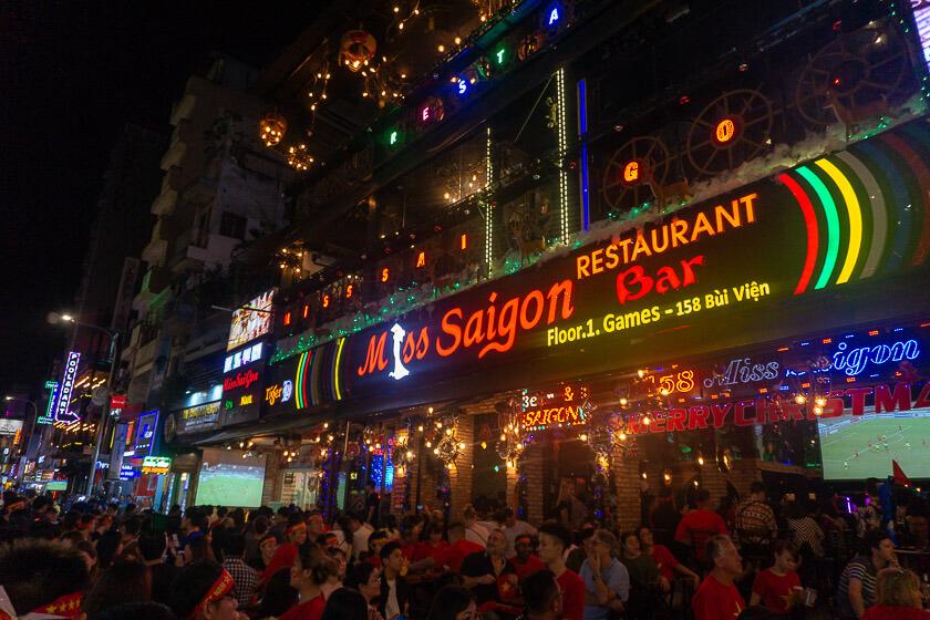 Ho Chi Minh City Nightlife.