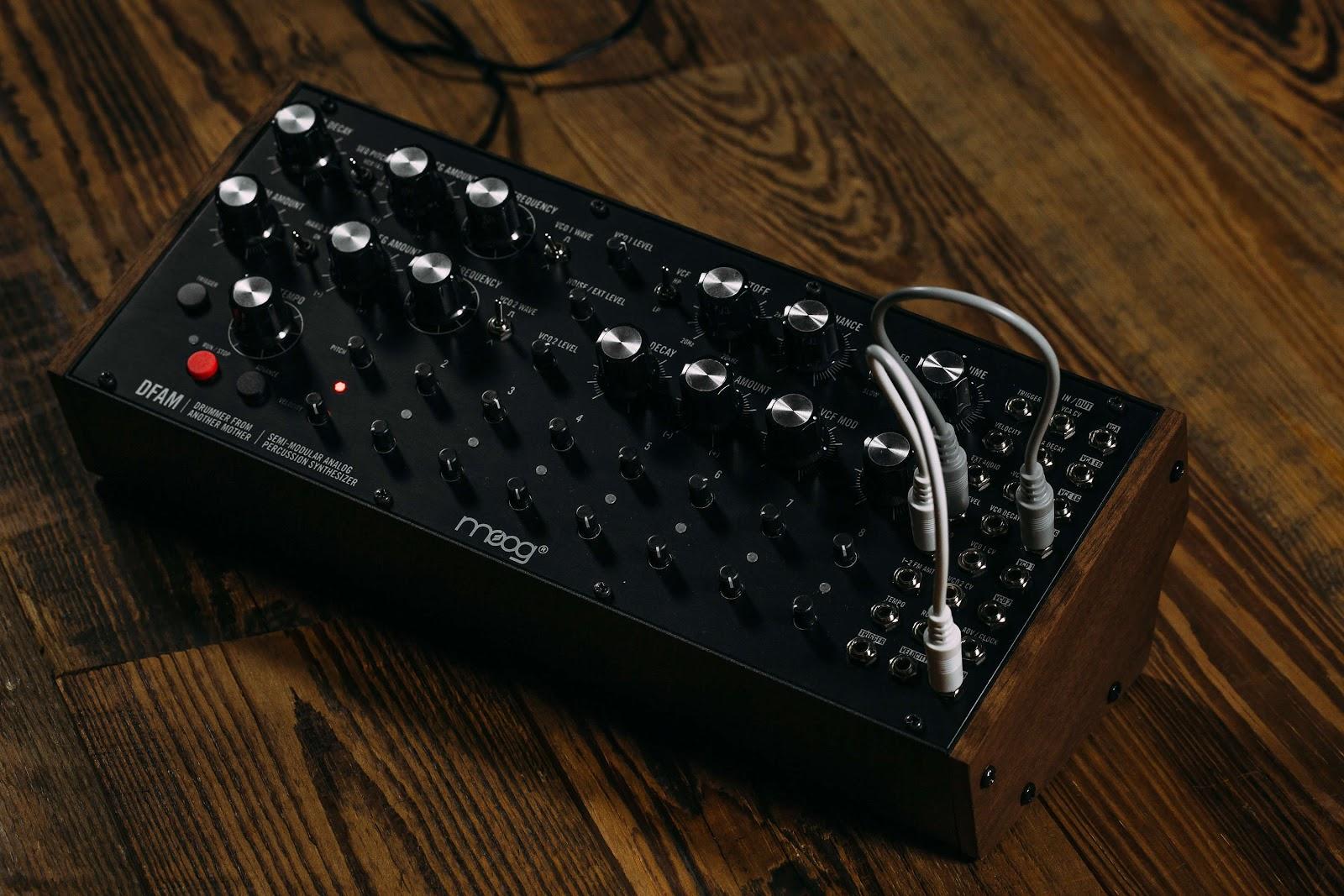 Moog DFAM  ten of the best drum machines