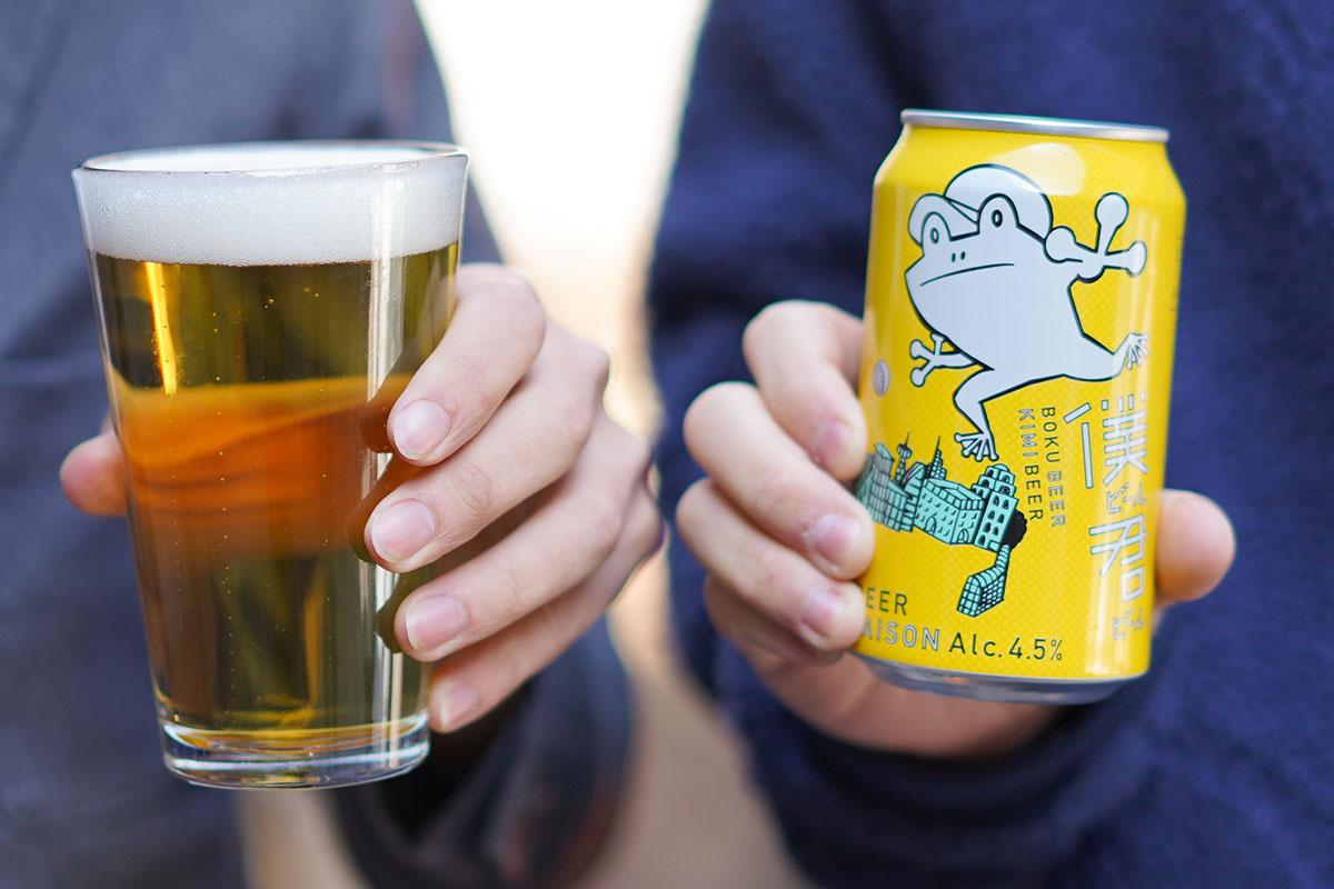 ヤッホーブルーイングのセゾン「僕ビール君ビール」