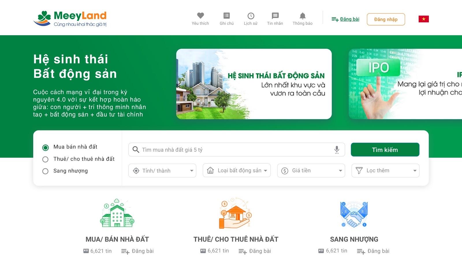 Top các trang web đăng tin mua bán Cửa hàng – Ki ốt uy tín nhất Việt Nam