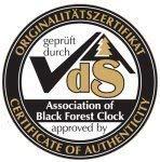 certificado vds de autenticidad de relojes de cuco