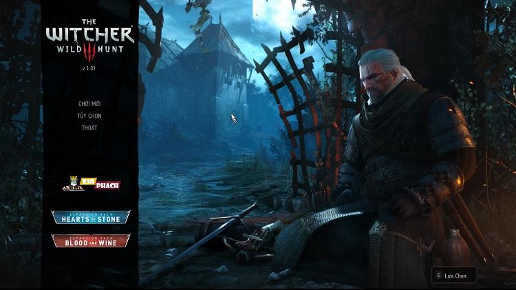 Chiến Game  The Witcher 3 Wild Hunt Việt hóa cùng Khí Phách nào!!