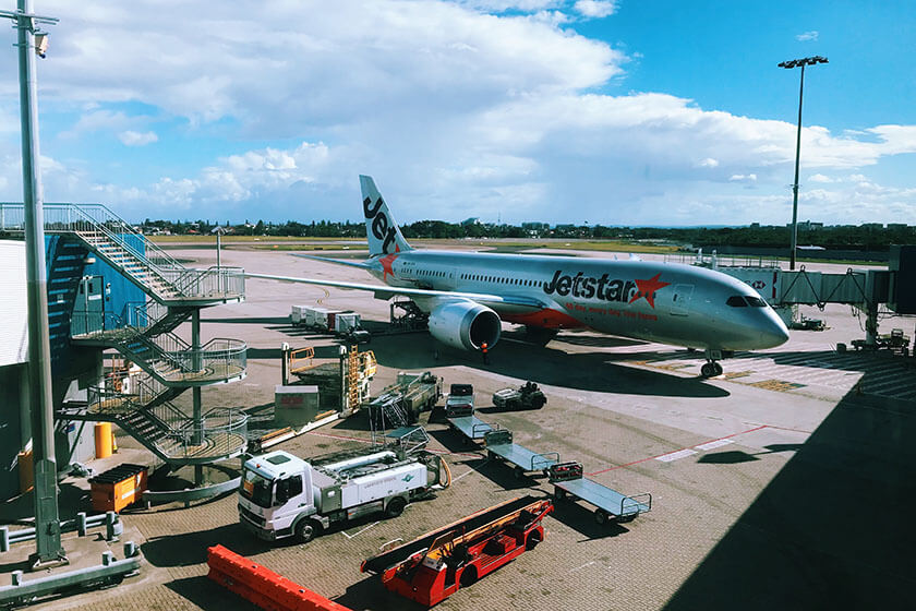 Jetstar is a cheap airline.