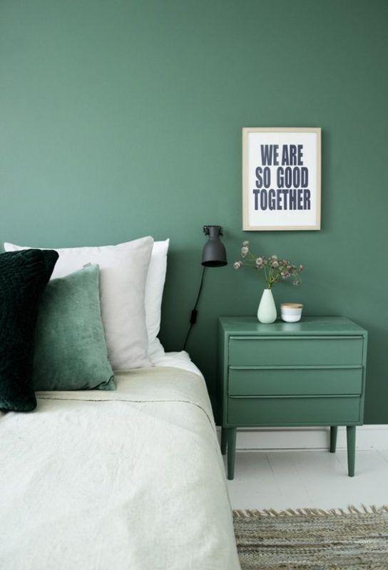 Best Jade Green Paint Color for Bedroom