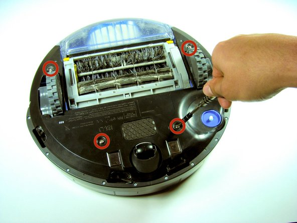 How to replace iRobot Roomba 650 Battery?