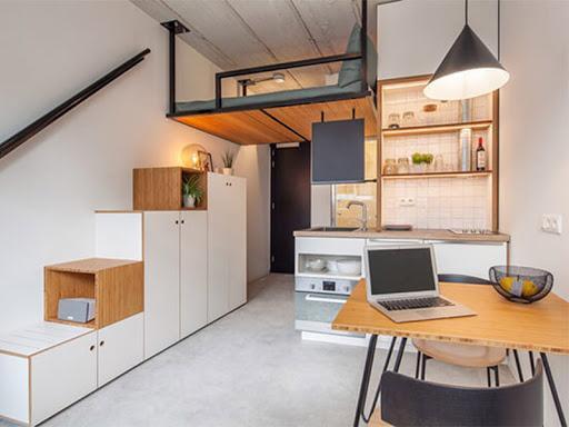 Giải quyết vấn đề về không gian cho căn hộ nhỏ