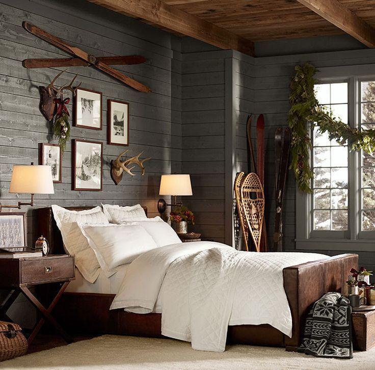 Adorn Your Room with Rustic Decor men's bedroom ideas