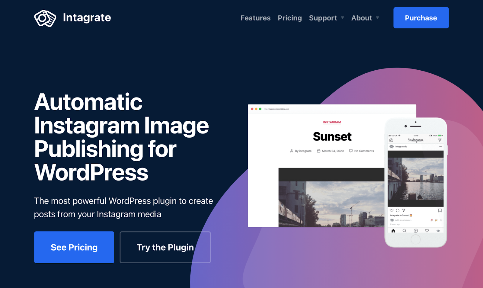 Intagrate Instagram WordPress Plugin Download
