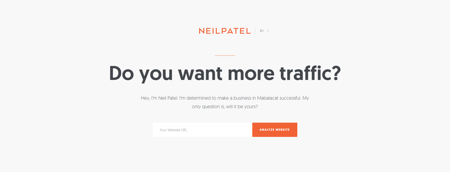 Neil Patel brand statement