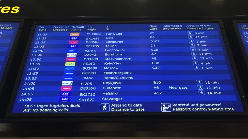 Аэропорт Копенгагена в Дании
