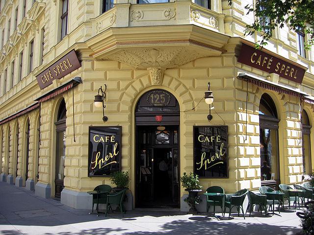 Cafe sperl - vienna
