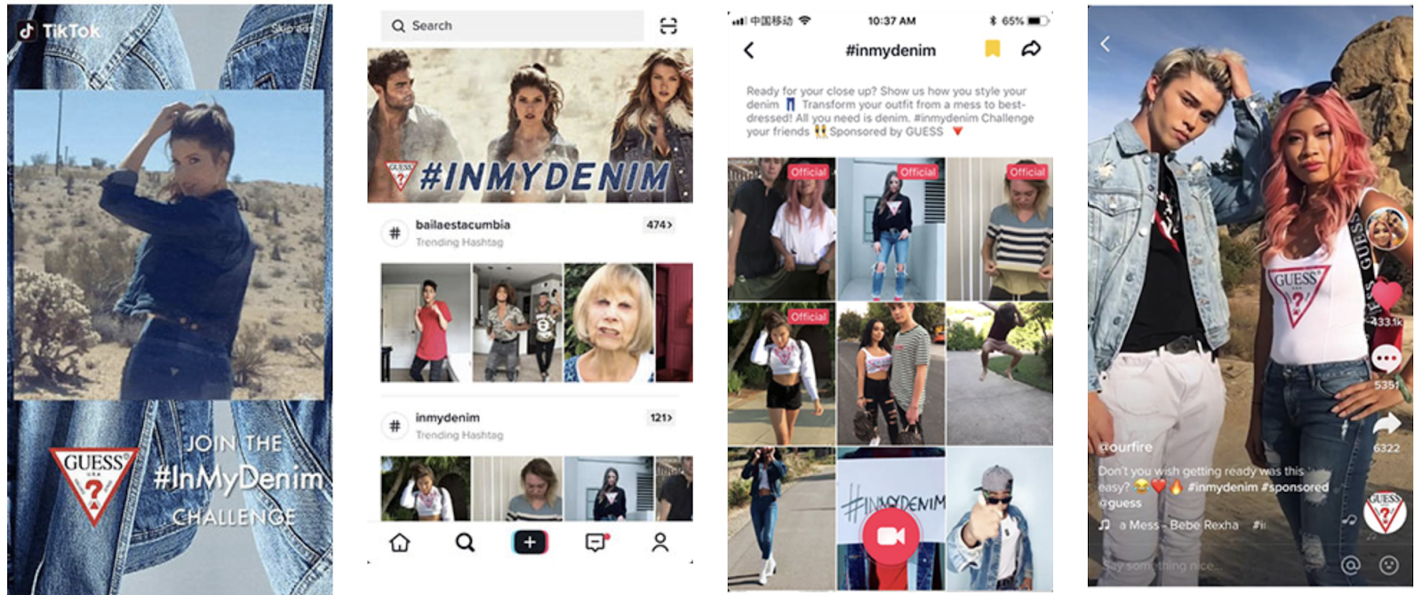 exemple_branded_takeover_annonce_guessjeans_sur_tiktok