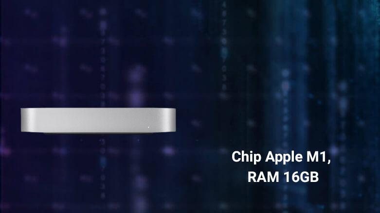 PC Mac Mini 2020 Z12P000HK | chip hiện đại