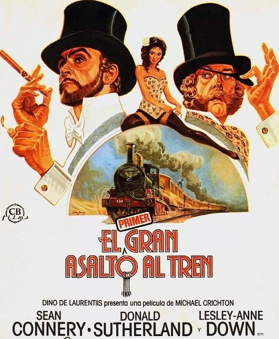 El primer gran asalto al tren (1978, Michael Crichton)