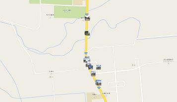 桜岡町内会の地図