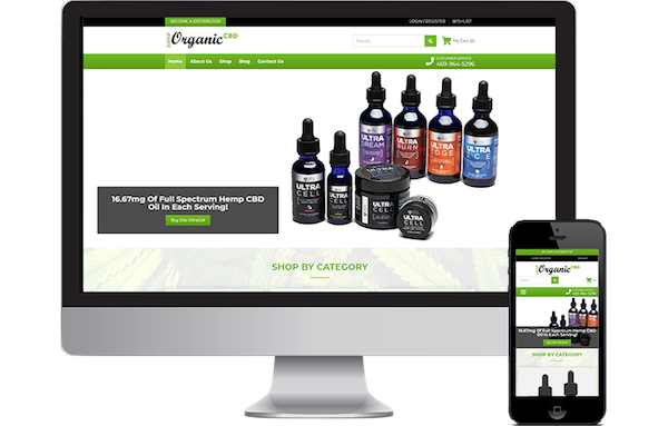 mobile and responsive CBD websites