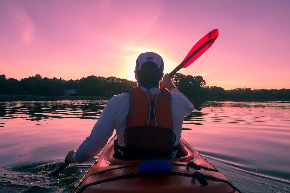 Kayaking, Canoing, Lakes, Streams, Creeks, Waterways