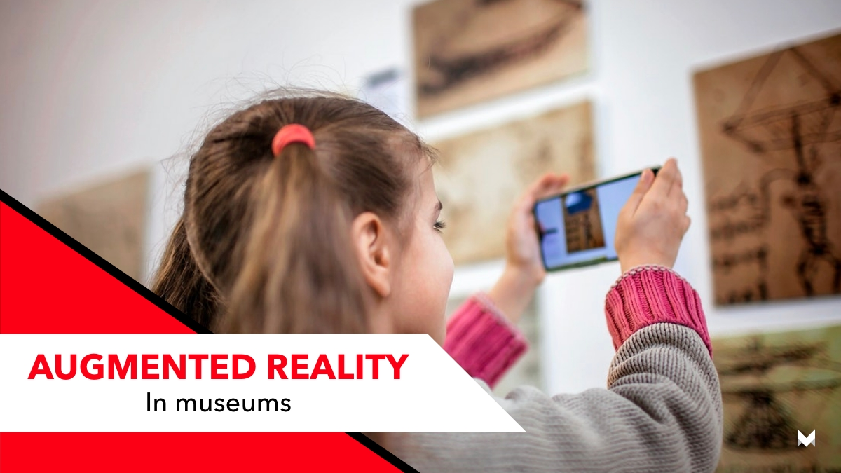 augmented reality in museums