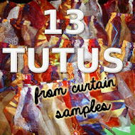 13 Tutus from Curtain Samples