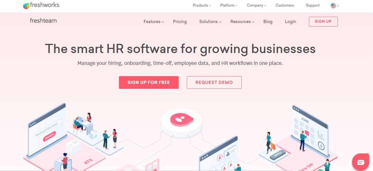 Cloud Based Recruitment Software - Fresh Team