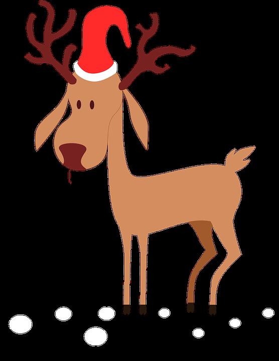 Free vector graphic: Reindeer, ...