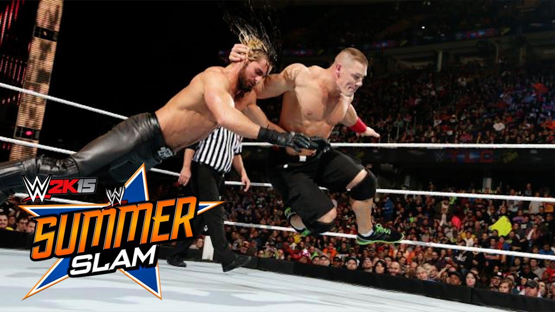 WWE Summerslam 2015: John Cena