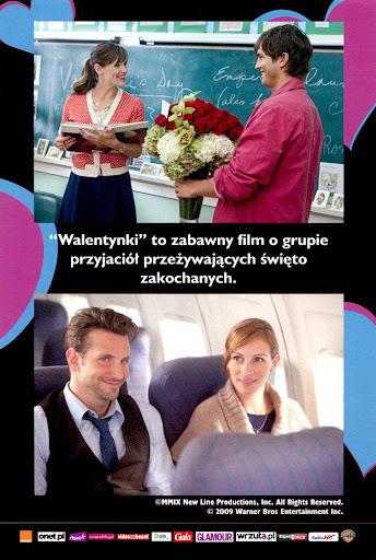 Tył ulotki filmu 'Walentynki'