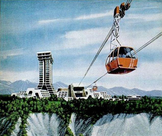 Acredita-se que a ideia para Seward inspirou o desenho de Las Vegas. (Fonte: Arch Daily/Reprodução)