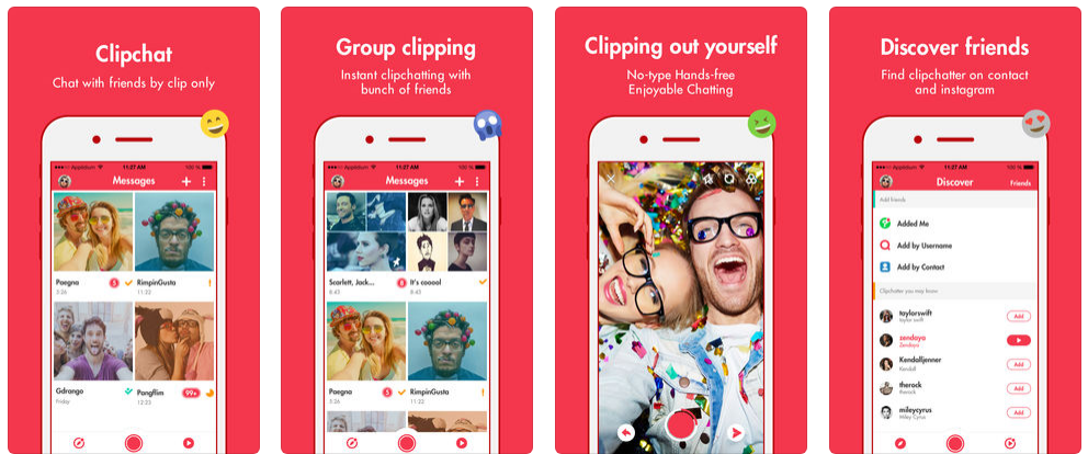 how to build an app like snapchat and Clipchat