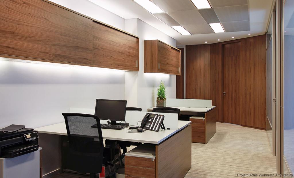 Imagem de escritório organizado