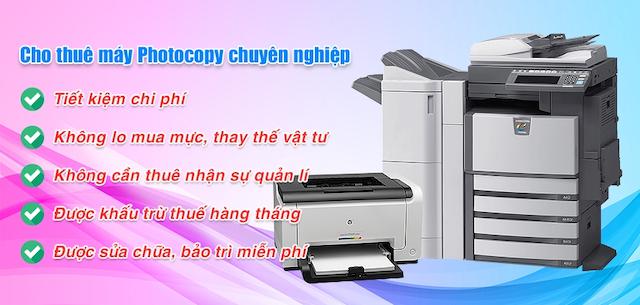 Dịch vụ cho Thuê máy photocopy quận 10 tại Linh Dương