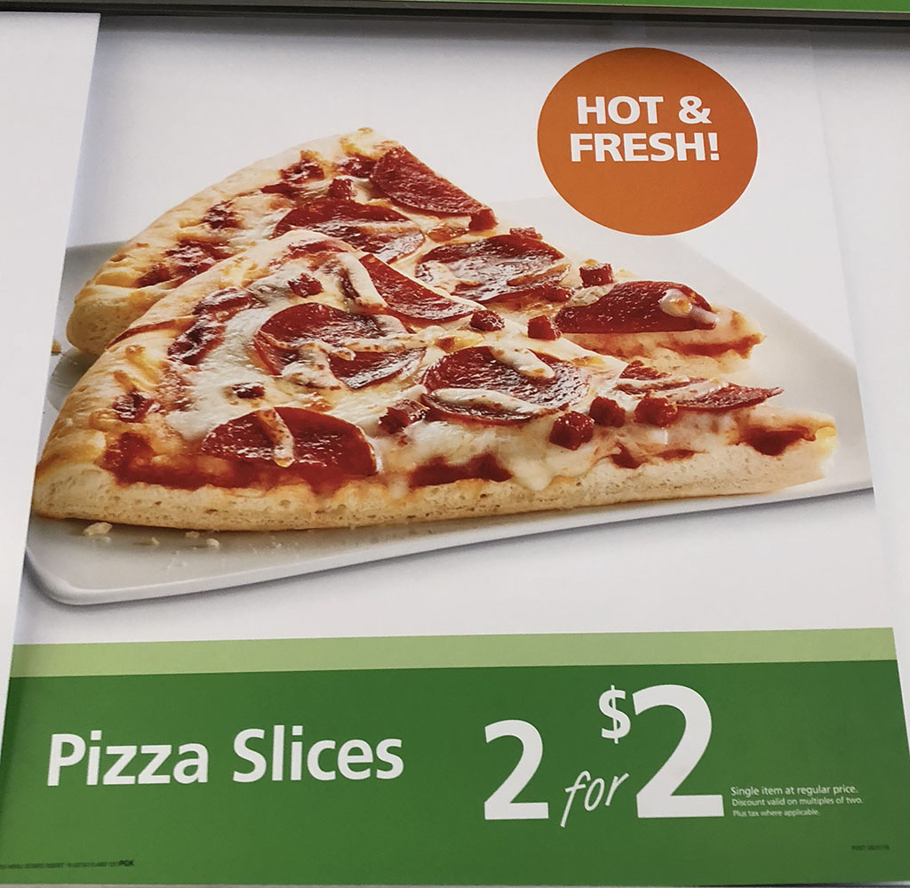 Pizza slices usage-based pricing
