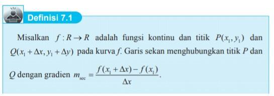 materi matematika kelas 11 bab 7