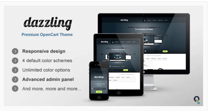 Dazzling - Opencart premium theme