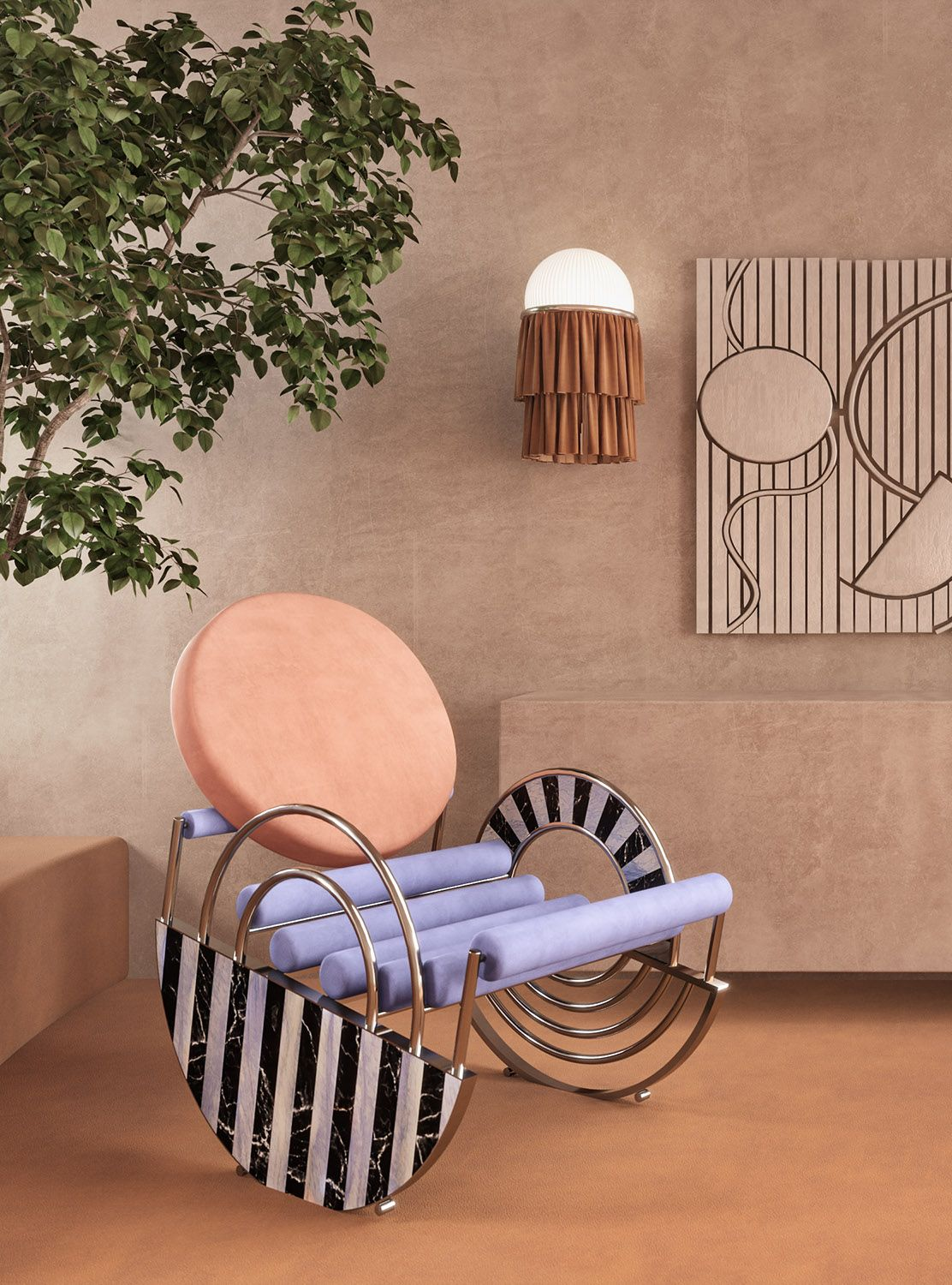 Interior trend: Sculptural furniture to give shape to the everyday life