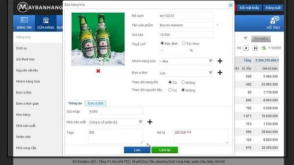 phần mềm bán hàng uy tín tốt nhất