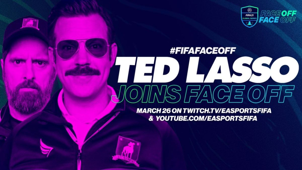 Jason Sudekis will appear at the FIFA Face-Off event as Ted Lasso
